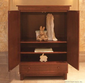 manhattan armoire (sable)