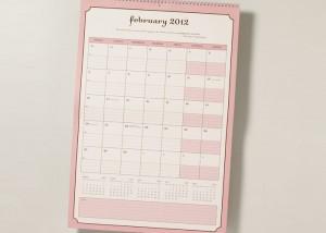 wall calendar by momagenda