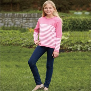 girls toothpick jean