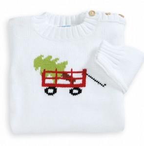 intarsia wagon sweater