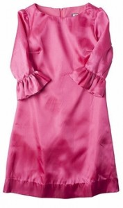 blythe 3/4 ruffle sleeve dress